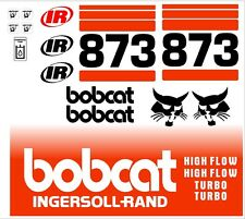 873 A new decal kit / sticker set skid loader skid steer xAx decals fits bobcat