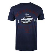 Ford Mens - Mustang - T-Shirt - Navy