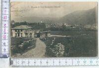 1919 RICORDO DI SAN GERMANO CHISONE cartolina viaggiata Torino