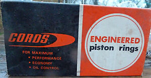 "Cords 928 Piston Rings, VAUXHALL VIVA HB 1057cc HA BEAGLE BEDFORD 6/8 CWT .020"""