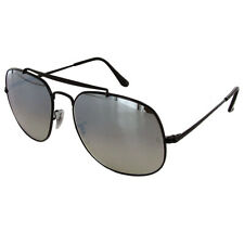 Ray Ban Aviador Gafas de sol para hombre general RB3561, Negro/Plata gradiente de Flash