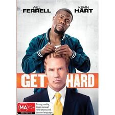 GET HARD-Will Ferrell, Kevin Hart-Region 4-New and Sealed