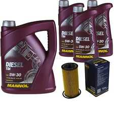 Ölwechsel Set 8L MANNOL Diesel TDI 5W-30 API Motoröl + SCT Filter KIT 10201020