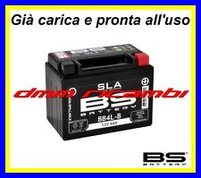 Batteria BS SLA Gel PIAGGIO LIBERTY 50 2T 97>98 modifica carica pronta 1997 1998