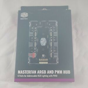 Cooler Master Masterfan ARGB and PWM Hub with 6 Ports