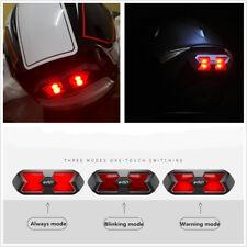 Motorcycle ATV Helmet Safety Blinking Warning Lamp Night Light 3 Modes Universal