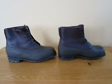 Leather BUSHCRAFT Waterproof Boots Vintage Swedish Army M59 1950 1960s