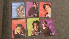 My So-Called Life trading cards promo very rare Claire Danes Jared Leto tv show