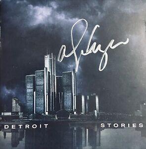 ALICE COOPER SIGNED DETROIT STORIES Booklet +SEALED DETROIT STORIES CD