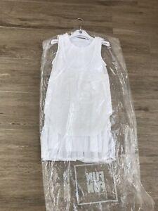 Fun Fun Girls White Dress Age 10  yrs Size 36  BNWT