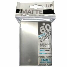 ULTRA PRO Deck Protector Sleeves Pro Matte Non-Glare Clear Small 60ct 62 x 89 mm