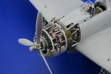 Eduard 32161 1/32 Aircraft- A6M2 Zero Type 21 Engine for Tamiya