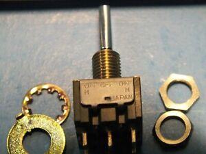 5 pcs  NIHON KAIHEIKI  M-2028E  6A 125VAC Japan NKK Switches