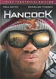 Hancock (DVD, 2008, R3) - Used Good Condition -