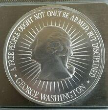 2 Oz .999 silver 2nd Amendment George Washington art AR15 full second amendment