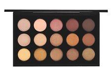NIB Authentic MAC Eye Shadow x 15 in Warm Neutral Palette $101 Value