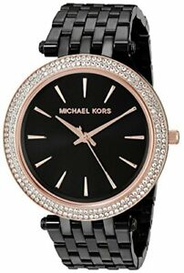 Michael Kors Darci Black Crystal Pave Womens Watch MK3407