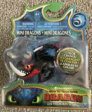 How to Train Your Dragon Mini Dragons Deathgripper *Rare* Colour Change  New
