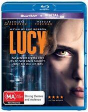 Lucy (Blu-ray, 2014) BRAND NEW & SEALED