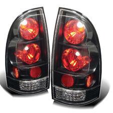 Toyota 05-15 Tacoma Black Euro Style Rear Tail Lights Lamp Set SR5 X/Pre-Runner