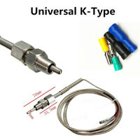 EGT Thermocouple Temperature Sensors For Exhaust Gas Probe K-Type Stainles Steel