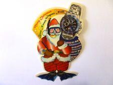VECCHIO ADESIVO ORIGINALE / Old Sticker WATCH OROLOGIO IMMERSION (cm 9 x 14)