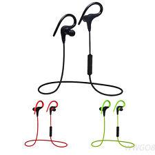 Wireless Bluetooth Headset Stereo Sweatproof Sports Earbuds  Earphone Headphone
