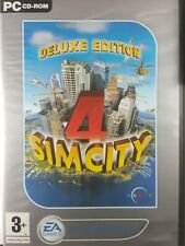 Sim City 4 Deluxe Edition Game (Classics) Pc. 2 Disc Set Complete