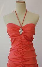 Windsor $140 Evening Prom Formal Cruise Cocktail Dress size 13 Tangerine Long