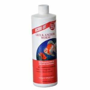 LM Microbe-Lift Lice & Anchor Worm  16 oz