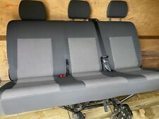 Vw Transporter t5 t6 rear bench folding seat from 19 plate with seat belts