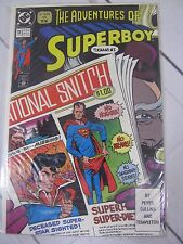THE ADVENTURES OF SUPERBOY 13  FEB '91 DC COMICS Bagged and Boarded - C1056