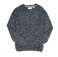 Weatherproof Vintage Mens Sweater Blue Size XL Crewneck Knit Marled $75 289
