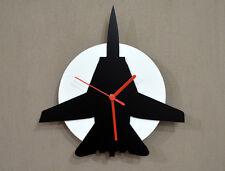 F-14 Tomcat - Black & White - Wall Clock