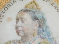 VINTAGE 1896 VICTORIA QUEEN OF ENGLAND PIN