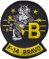 United States Navy USN Grumman F-14 Tomcat 'Bravo' Embroidered Patch