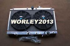 Aluminum radiator + fan for HONDA Prelude 2.2L1997-2001 & ACCORD CD 1993-1997 MT