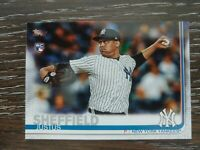 Lot (50) 2019 Topps Series 1 Baseball RCs Justus Sheffield card #306 qty avail