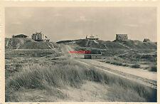AK, Texel De Koog, strada naar het BADHOTEL, 1941