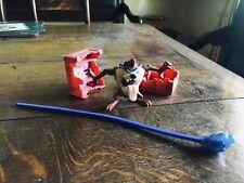 Tornado Taz Tasmanian Devil Action Figure / Spinning Top Looney Tunes