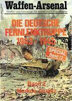 Zeitschrift Waffen-Arsenal Special Band 12, Die Deutsche Fernlenktruppe Band 2