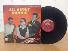 Ronnie Ball, All About Ronnie,Savoy MG 12075,1st MONO PRESSING, RARE Vinyl LP
