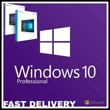 INSTANT DELIVERY WINDOWS - 10 - PRO PROFESSIONAL 32 / 64 BIT ACTIVATION KEY