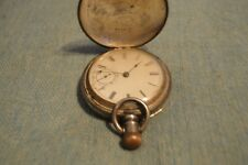 Antique 1884 Keystone Coin Co. Pocket Watch with Waltham Mechanism