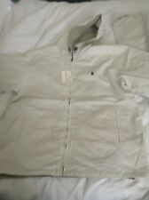 POLO GOLF BY RALPH LAUREN MENS  REVERSiBLE JACKET BEIGE/SAND SIZE XL RRP £166