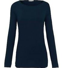 Artigiano Womens Ladies Italian Jersey Top Long Sleeve Boat Size 8 Box26 03 G