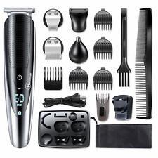 HATTEKER Mens Beard Trimmer Grooming Kit Hair Mustache Body For