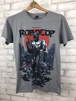 Loot Crate Robocop Alex Murphy T Shirt Gray Retro Graphic Tee Small