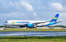 JC WINGS LH2062 1/200 AIR CARAIBES A350-900 F-HHAV WITH STAND LIMITED EDITION