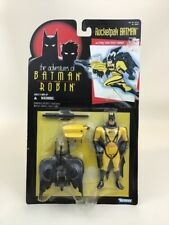 "Rocketpak Batman 5"" Figure The Adventures Of Batman and Robin Vintage 90s Kenner"
